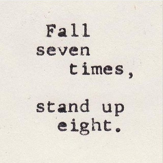 It's how many times you get back up that counts! #determination #resilience #honorsociety - HonorSociety.org