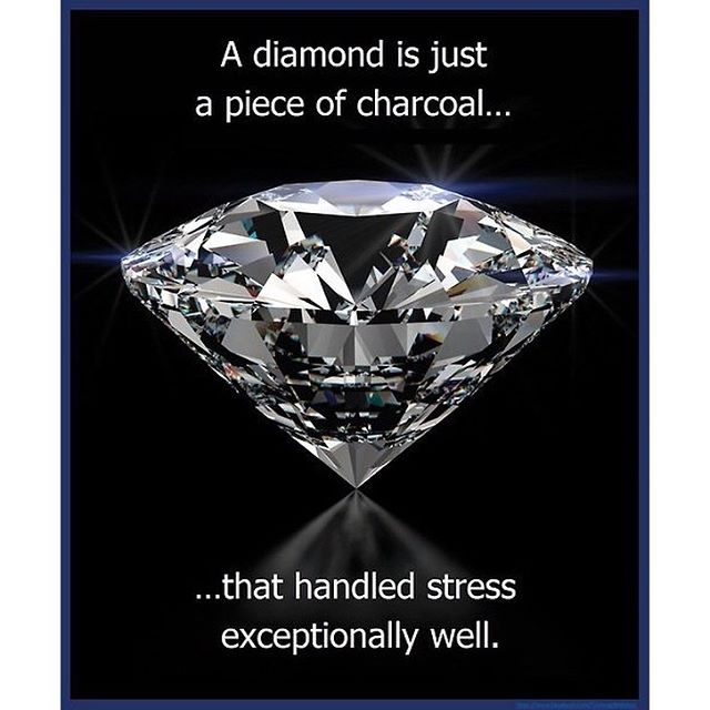 Within all of us, there is a diamond. Let pressure shape you rather than break you. #hsorg #handleyourpressure - HonorSociety.org