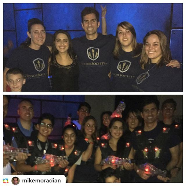 Our HonorSociety.org team conquering the laser tag arena with family and friends! #honorsocietyorg #lasvegas #teambuilding - HonorSociety.org