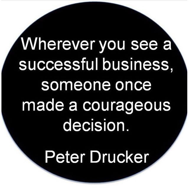 Make a courageous decision today! It may be one of the best decisions you've made. #hsorg #success - HonorSociety.org