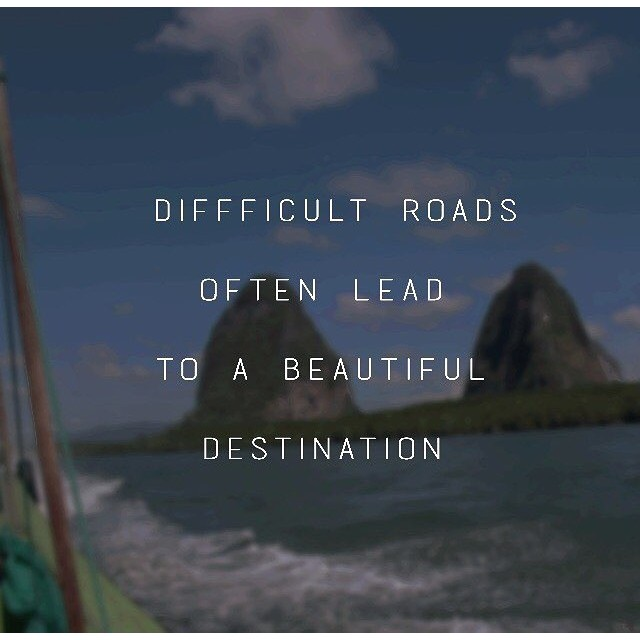 Whatever challenge you're currently facing is only preparing you for the journey ahead. #beautifuldestination #hsorg - HonorSociety.org